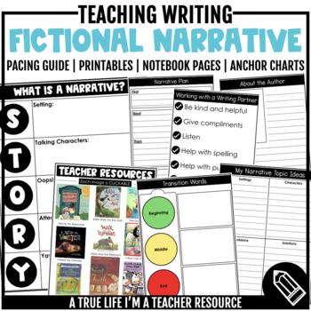 Fictional Narrative Writing Resources