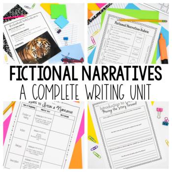 Fictional Narrative Writing Unit - Writing Workshop