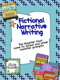 Narrative Writing~Common Core~Imaginative~Monster Prompts