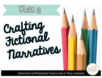 Fictional Narratives: Interactive Notebook Resources and Minilessons