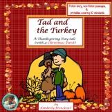 Fiction & Non-Fiction passages with printables about the 1st Turkey Pardon