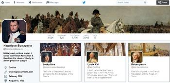 Fictional Twitter Profile Lesson