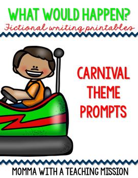 Fictional Writing Printables Carnival Theme