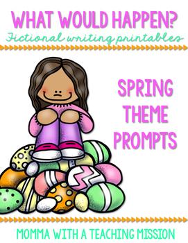 Fictional Writing Printables Spring Theme