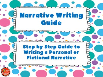 Fictional or Personal Narrative Writing Guide