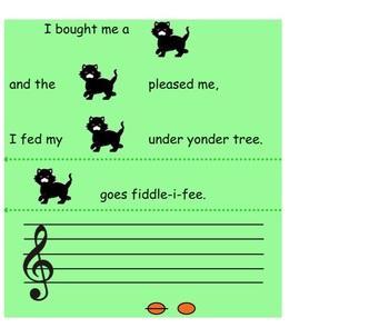 Fiddle-I-Fee Music Smartboard