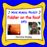 Fiddler On the Roof Movie Worksheet Project