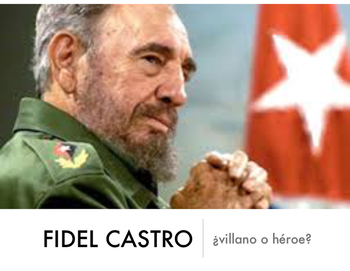 Fidel Castro slideshow reading