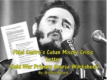 Fidel Castro's Cuban Missile Crisis Letter (Cold War Prima