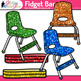 Fidget Bands Clip Art | Flexible Seating Chair Bands & Balls for Kids
