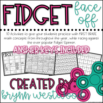 Fidget Face Off-Activities to Practice Math Concepts with Fidget Spinners