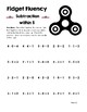 Fidget Fluency: Addition and Subtraction
