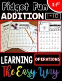 Fidget Fun Addition: Learning Operations the Easy Way