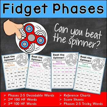 Fidget Phases High Frequency Words {UK Teaching Resource}