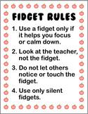 Fidget Rules