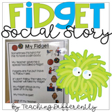 #warmupwithsped1 Fidget Social Story