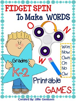 Spelling Games for Kindergarten to Grade Two