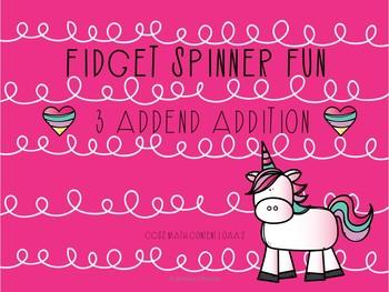 Fidget Spinner 3 Addend Fun