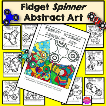 Fidget Spinner Abstract Art