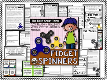 Fidget Spinner Activities and Close Reading