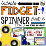 Fidget Spinner Awards: End of the Year Awards