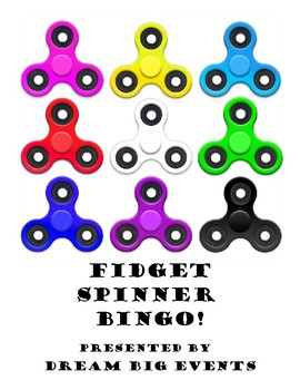 Fidget Spinner Bingo and Matching games