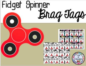Fidget Spinner Brag Tags