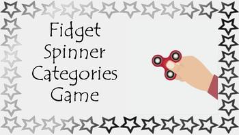 Fidget Spinner Categories
