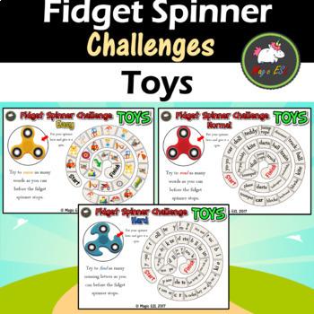 Fidget Spinner Challenge - Toys