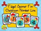 Fidget Spinner Classroom Number Line