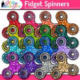 Fidget Spinner Clip Art: Stress Reliever Toy Graphics {Glitter Meets Glue}