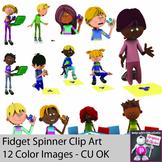 Fidget Spinner Clipart for Teachers -