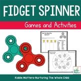 Fidget Spinner Social Skills Games