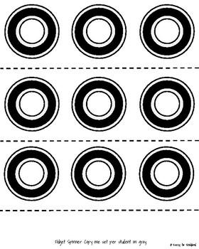 Fidget Spinner Craft