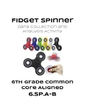 Fidget Spinner Data Collection Activity