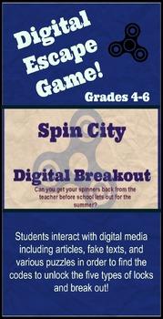 Fidget Spinner Digital Breakout