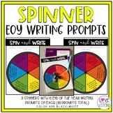 Fidget Spinner EOY Writing Prompts