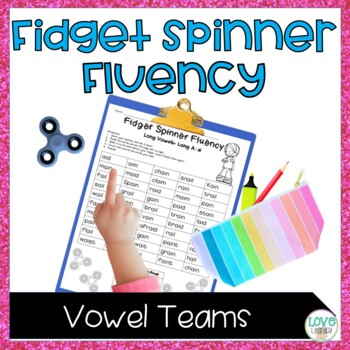 Fidget Spinner Fluency: Long Vowels