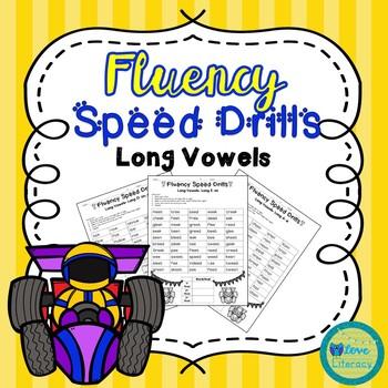 Fluency Speed Drills: Long Vowels