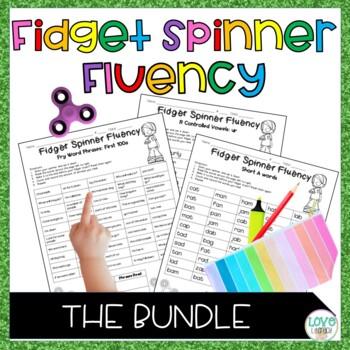 Fidget Spinner Fluency: A Growing Bundle