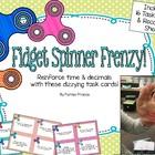 Fidget Spinner Frenzy Task Cards
