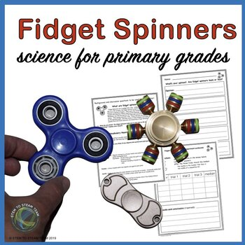Fidget Spinner Frenzy for Primary Grades:  Experiment and Persuasive Writing