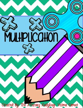 Fidget Spinner Friday Math Mania! Multiplication and Division Growing Bundle