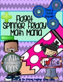 Fidget Spinner Friday Math Mania! Addition and Subtraction Growing Bundle