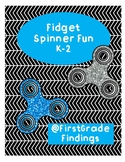 Fidget Spinner Fun K-2 Includes: Writing, Design, & Experiment!