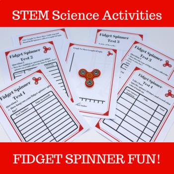 Fidget Spinner Fun Science Investigations