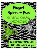 Fidget Spinner Fun Sight Word Edition Fry Words