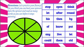 Word Work Fidget Spinner Game Board Bundle