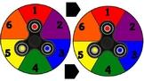 Fidget Spinner Game Spinner Set