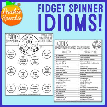 Fidget Spinner Idioms